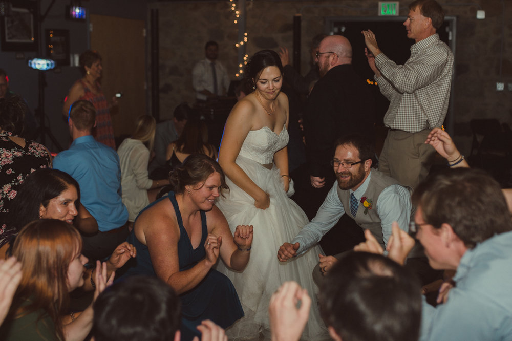 Galena Creek Hatchery bride dancing photo