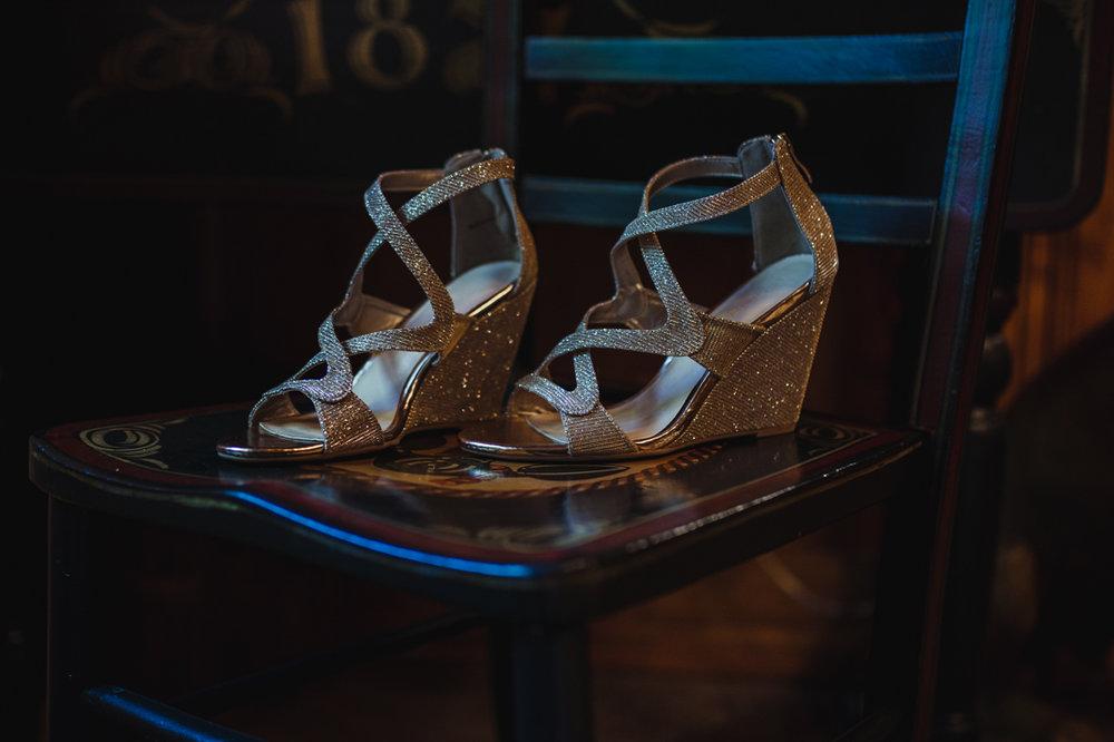 Incline Village wedding shoes photo