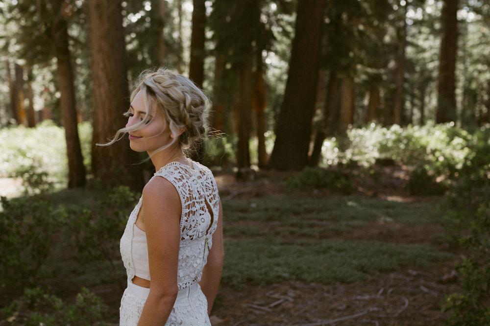 Bohemian bride photo