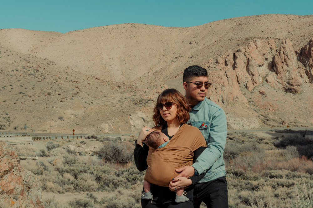 Wilson Canyon, NV | Villanueva Family