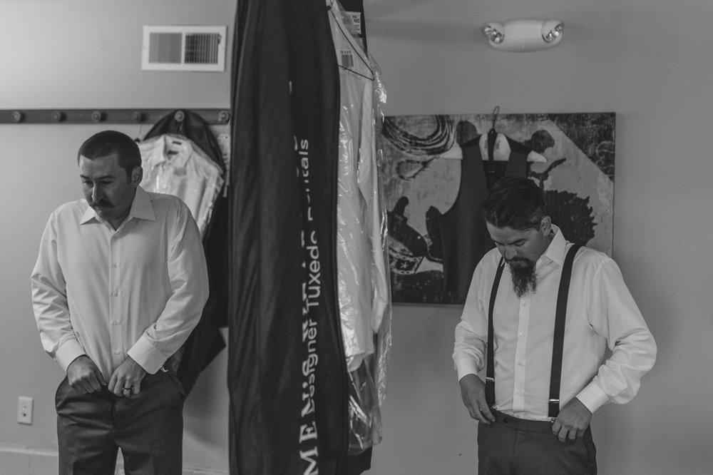 Tannenbaum Wedding Venue, groom getting ready photo