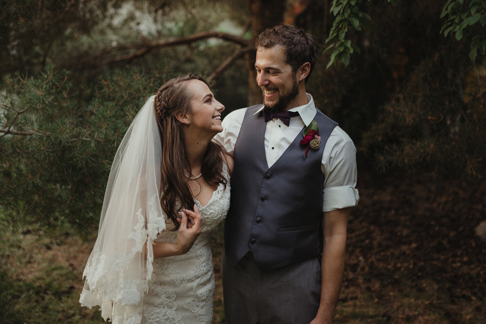 San Rafael wedding couples photo