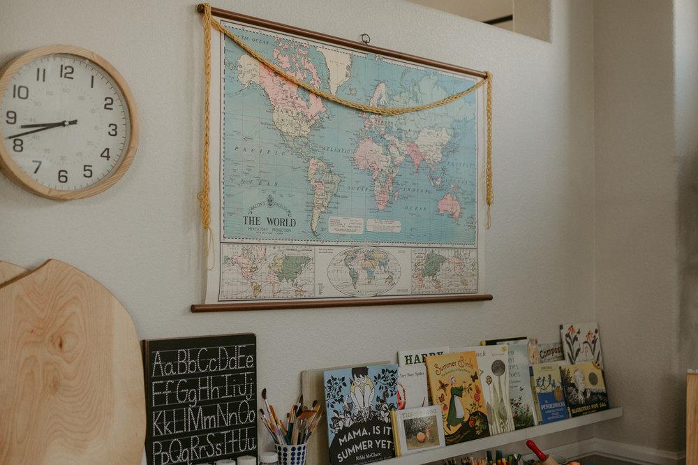 Reno family session home school decor ideas globe photo