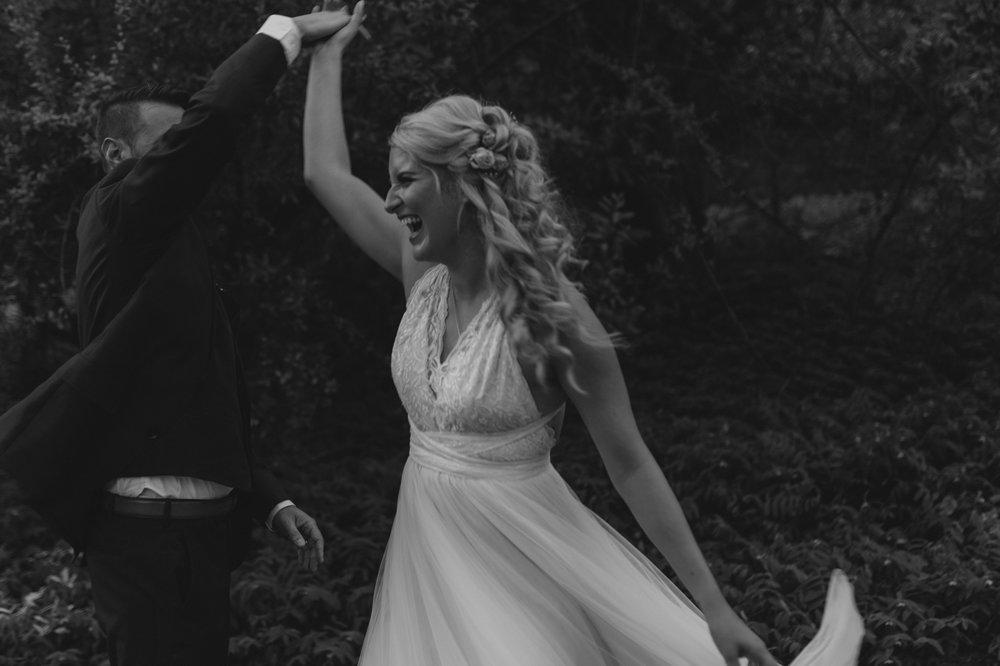 Wedgewood Sequoia Mansion wedding bride dancing photo