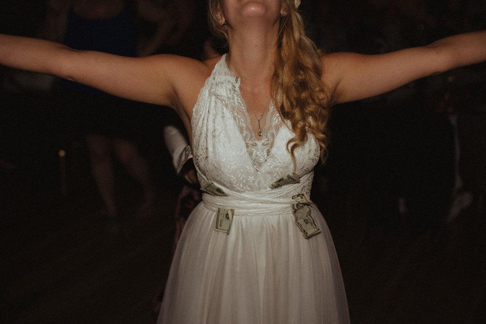 Wedgewood Sequoia Mansion wedding money dance photo