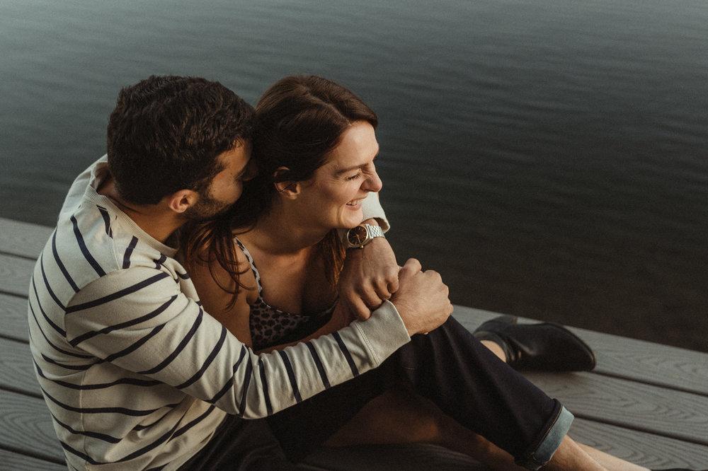 North Lake Tahoe Wedding Photographer engagement photo