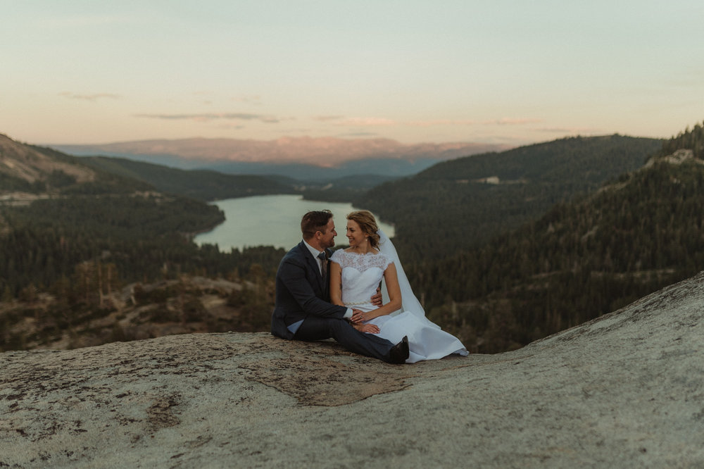 North Lake Tahoe wedding photography