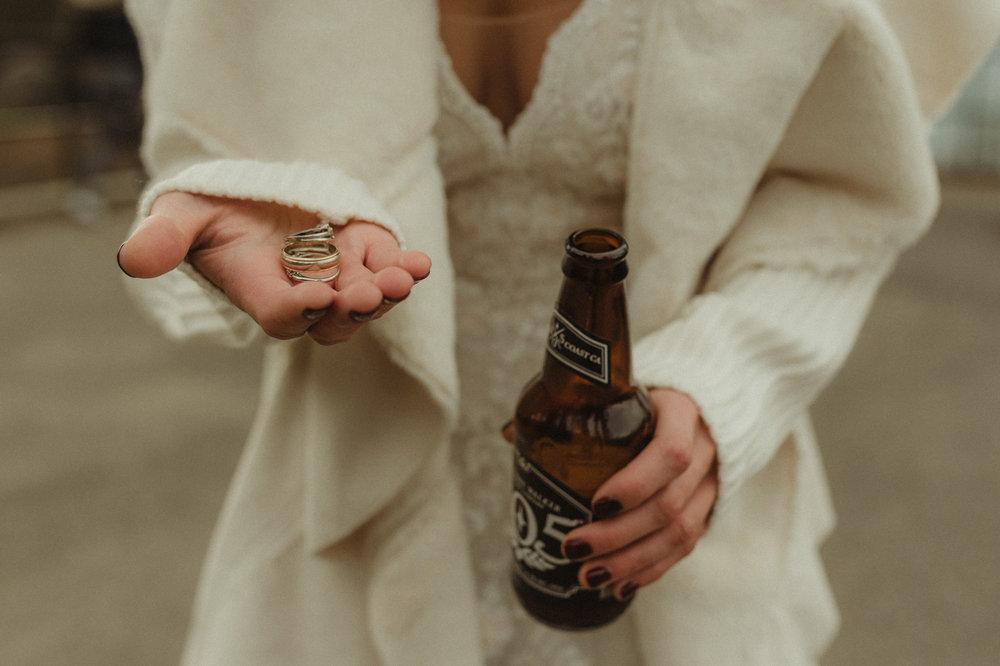 Lake Tahoe Wedding photographer rings photo