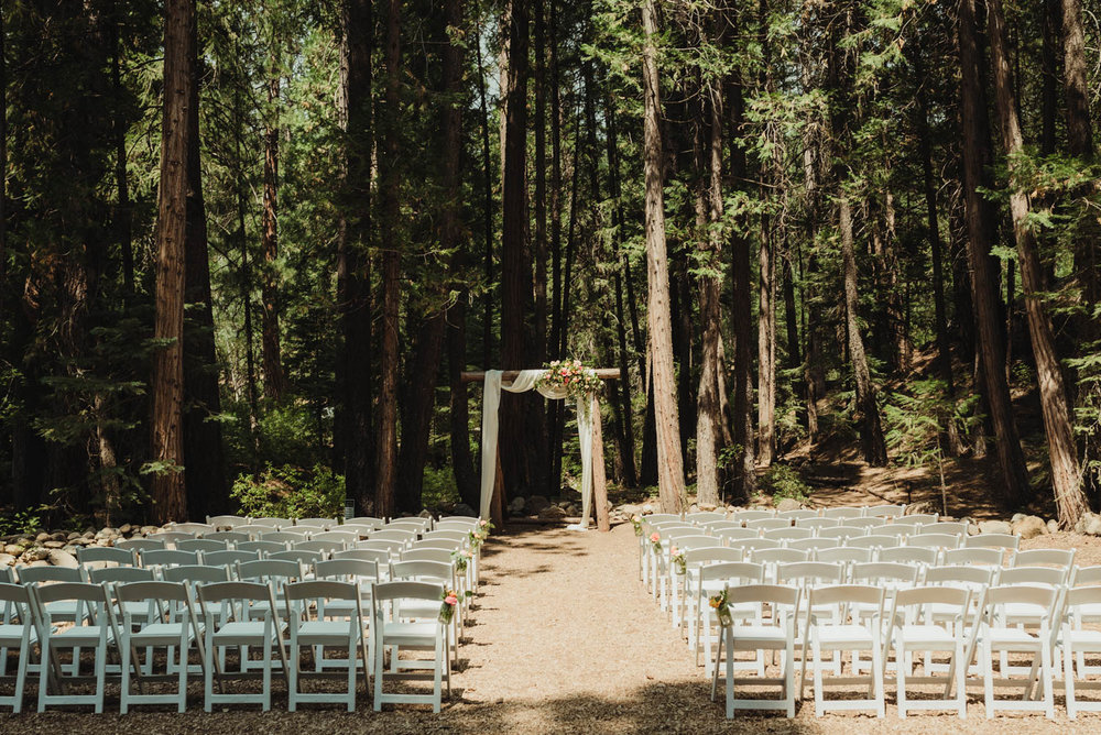 Twenty Mile House wedding ceremony area photo