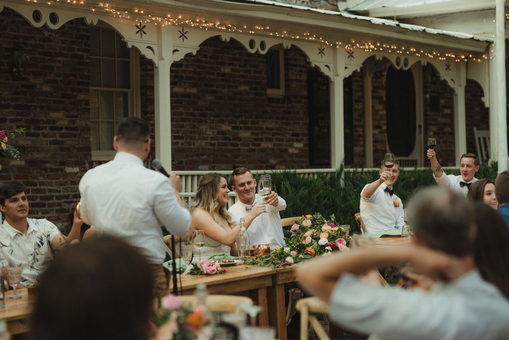 Twenty Mile House wedding couples photo