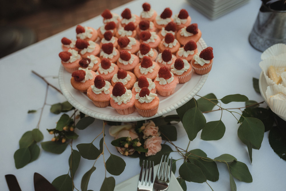 Twenty Mile House wedding dessert photo