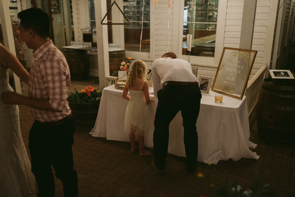 Twenty Mile House wedding reception photo