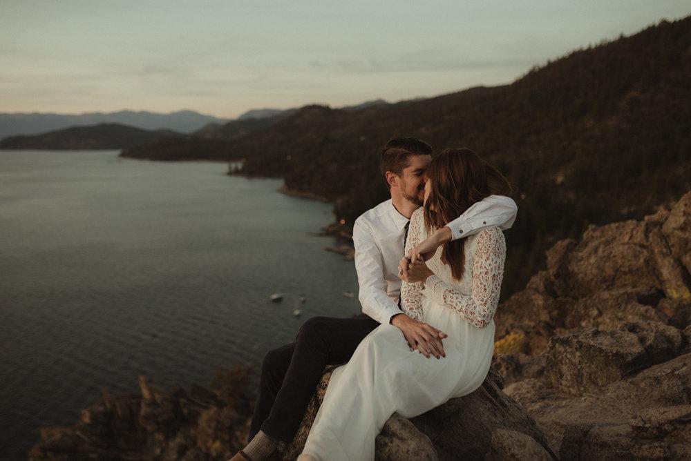 Lake Tahoe Vow renewal photo
