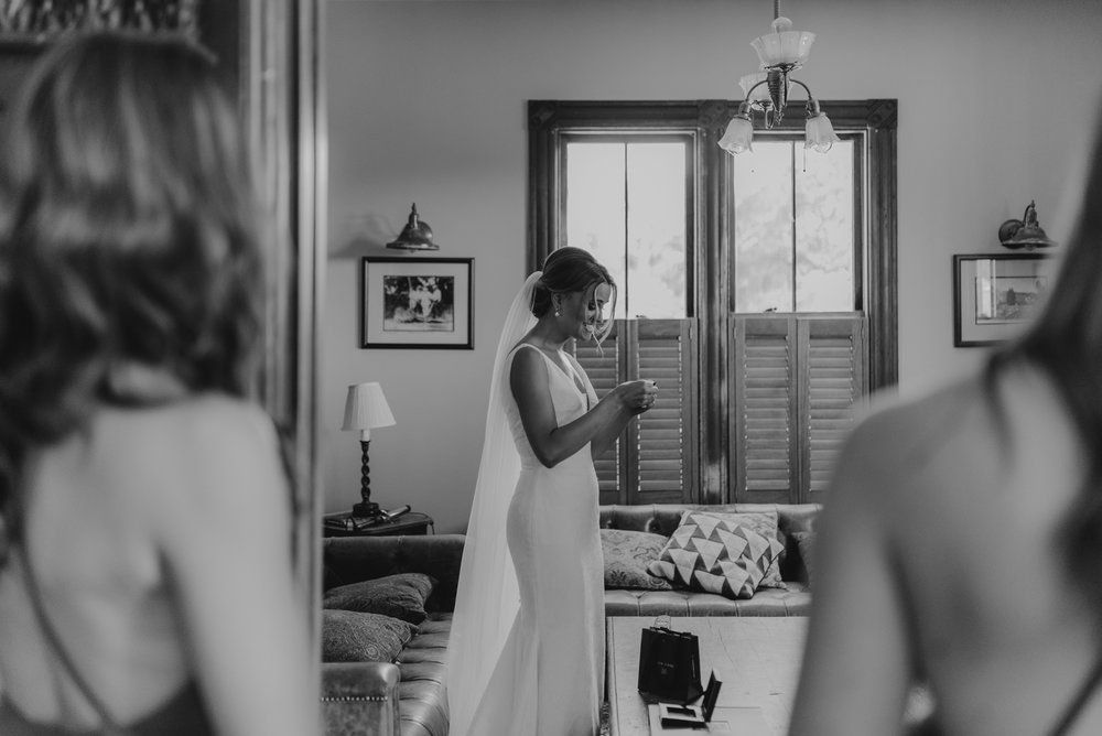 Triple S Ranch Wedding Venue, bridesmaid gift photo