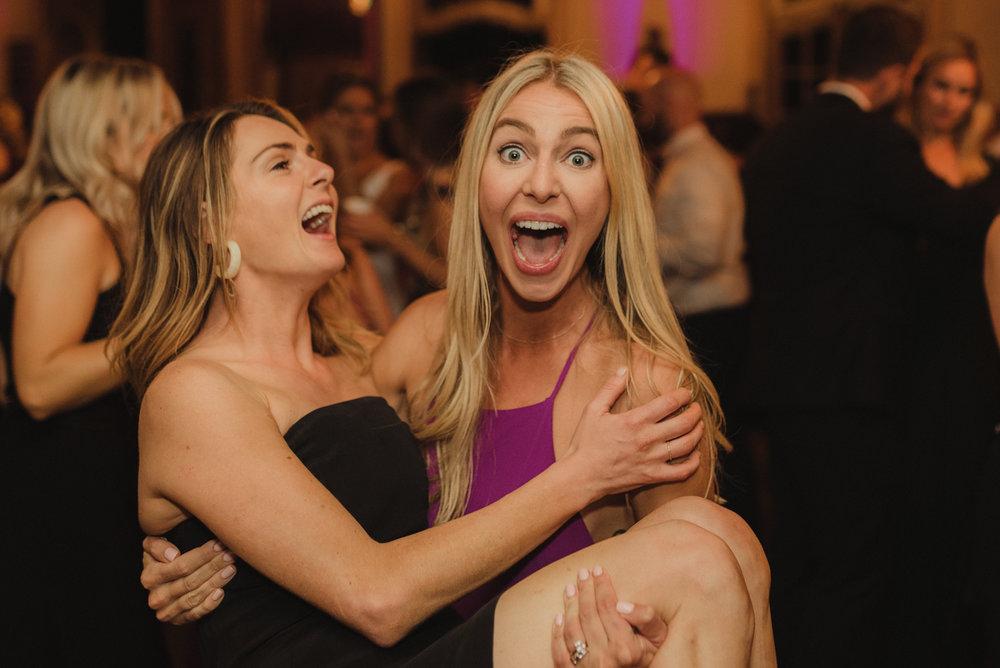 Triple S Ranch Wedding Venue, friends having a blast photo