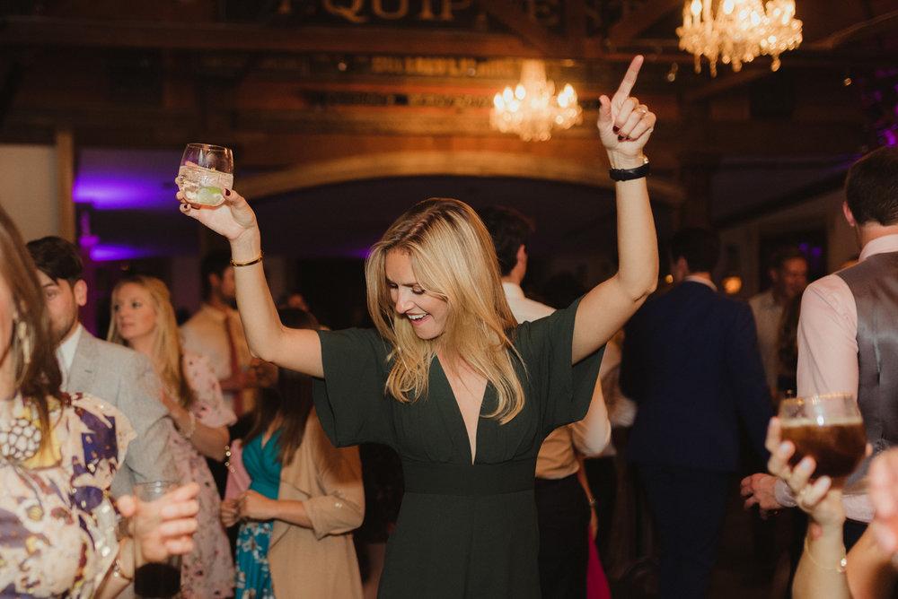 Triple S Ranch Wedding Venue, guests dancing photo