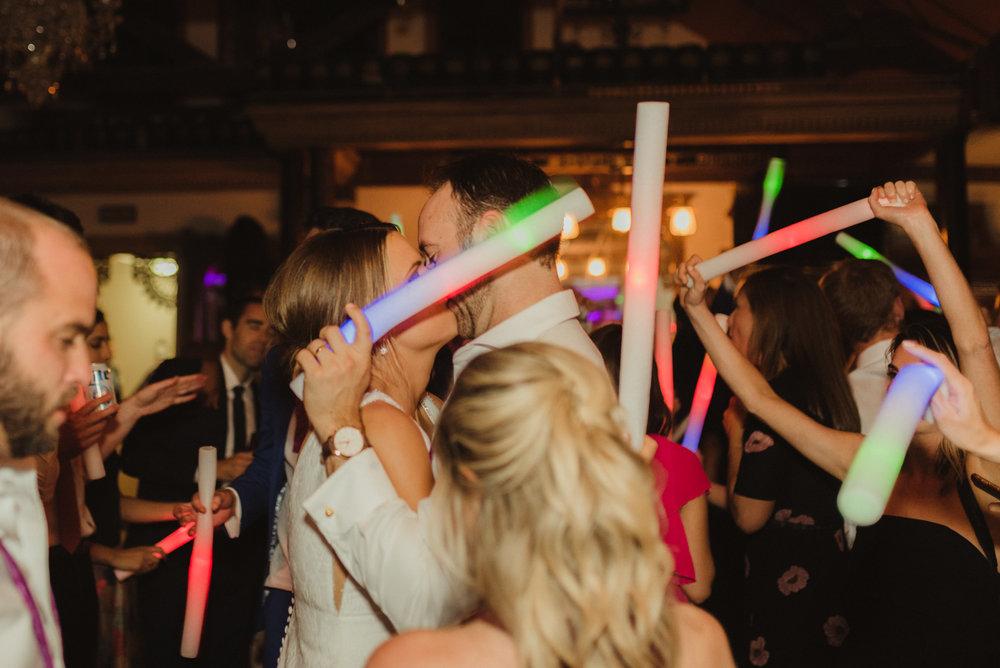 Triple S Ranch Wedding Venue, silent disco at the wedding photo