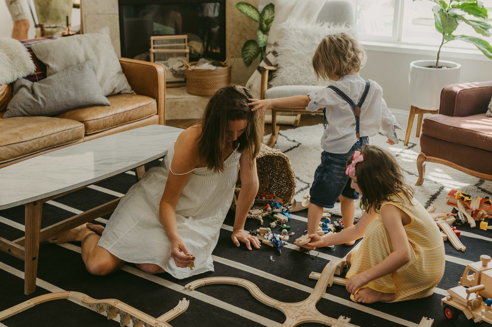 Lifestyle session in Reno, NV with a family