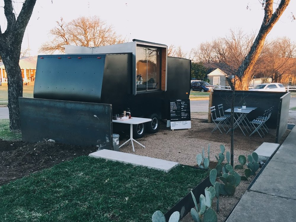 COFFEE FOLK  - After several years of dreaming, preparing, and planning, our friends Brian and Gina of have opened their specialty coffee cart in Forth Worth, Texas.