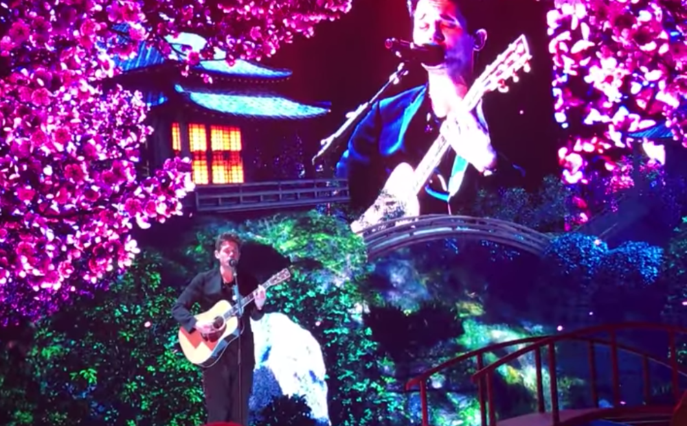 John Mayer-ville, Japan.
