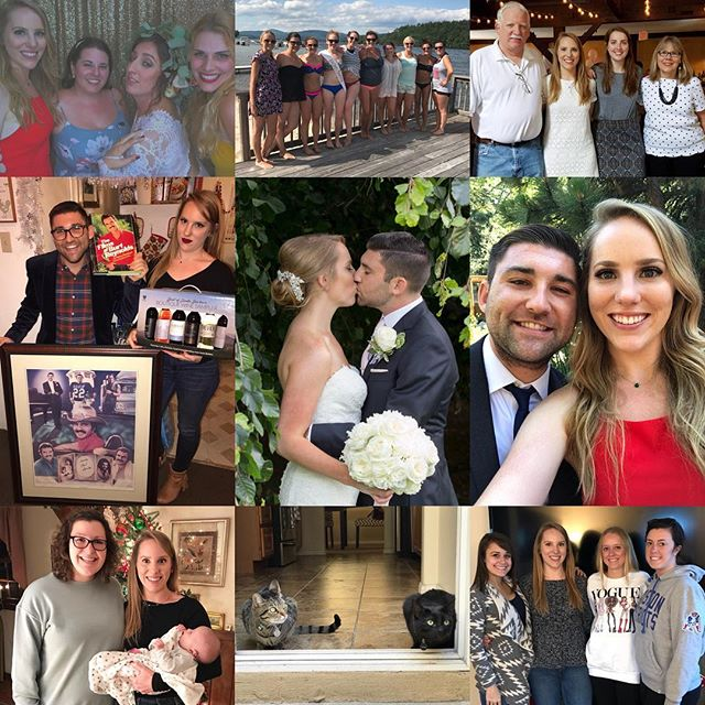 2017 brought so many incredible memories with friends, family and the person I now get to call my husband. Cheers to all the weddings attended, bachelorette parties had, cat photos taken, mimosas drank and lessons learned this year. I can't wait to see what 2018 has in store for us! Hopefully it includes lots more cat photos and mimosas 😻🍾