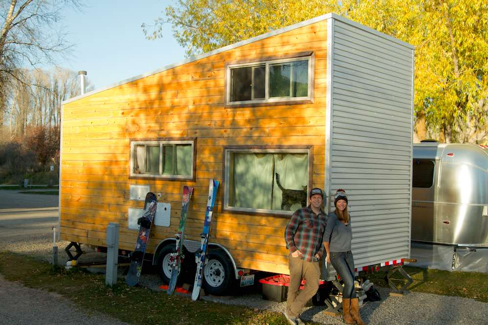 TETON GRAVITY RESEARCH TINY HOUSE