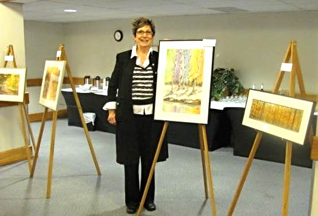 Artist Diana Templeton , Delta Inn South