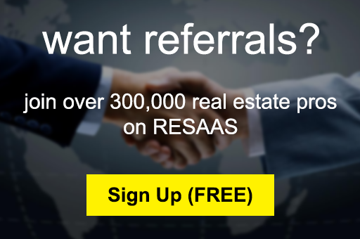 Do you have a client moving out of town? Use the RESAAS Referral Engine to connect them with a local agent. Learn morehere!