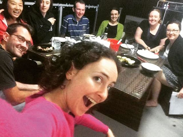 Board meeting on the President's balcony last night #Rotaract #Rotaractbriscbd #food #potluck #latergram #Brisbane #volunteer