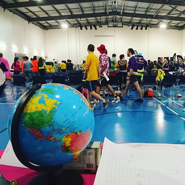 @relayforlifebne the rainy weather hasn't stopped our team's Relay efforts tonight #Rotaractbriscbd #whereintheworldiscarmensandiego #globe #relayforlife #Brisbane #volunteer #community #health #beatcancer