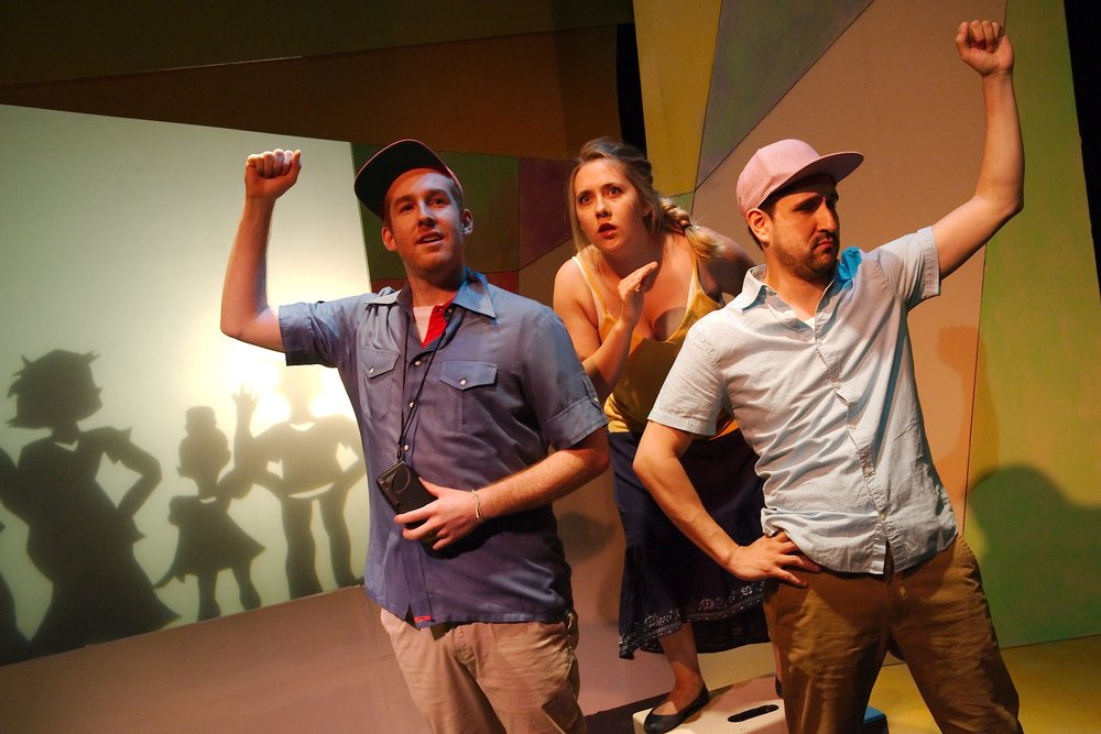 María Discovers a Mysterious Figure - Martin Diaz-Valdes, Steph Vondell, and Víctor Maraña in FIREFLY LOVE (photo by Anthony Aicardi).jpg