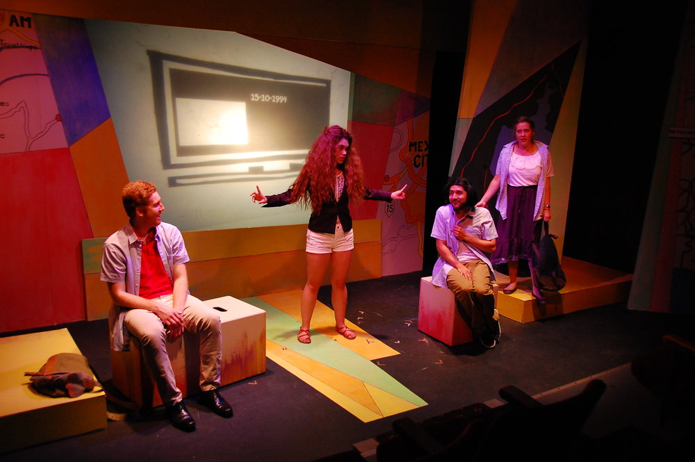 Martin Diaz-Valdes, Allyce Torres, Víctor Maraña, and Steph Vondell in FIREFLY LOVE (photo by Laura Nash).JPG