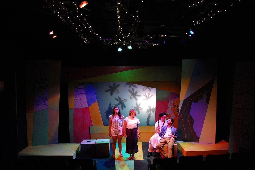 Allyce Torres, Steph Vondell, Martin Diaz-Valdes, and Víctor Maraña in FIREFLY LOVE (photo by Laura Nash).JPG