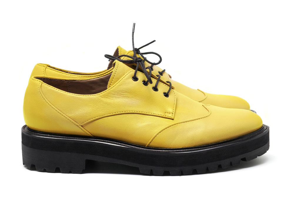 Lemon Derby SOlid Brogue...cooler than a Creeper.