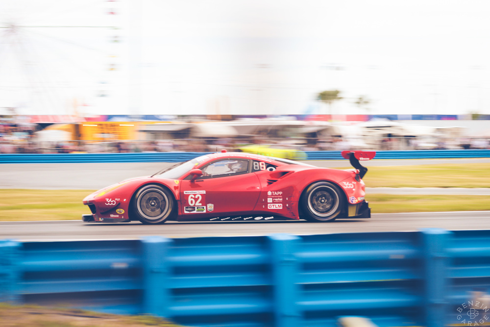 If it's possible, with the new GTLM aero upgrades, the Ferrari 488 GTE manages to be even more beautiful than the 458 it replaces...