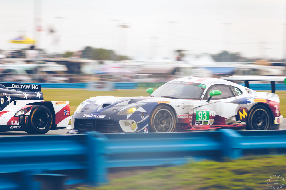 Even though the Viper factory team dropped the mic and withdrew from competition after winning the 2014 GTLM championship, the model still dominates in GTD. They even made an appearance at Le Mans last year, and are hoping to return.