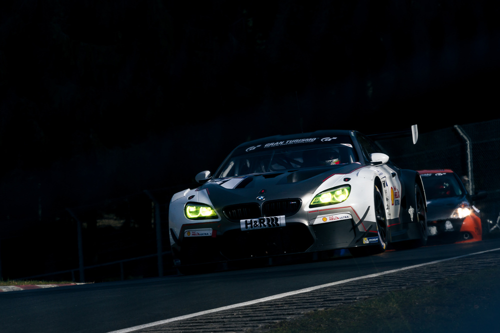 BMW M6 GT3 shared by Augusto Farfus and Jorg Müller.