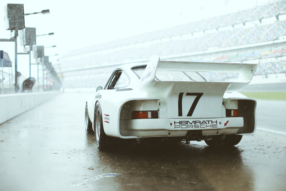 934.5 casually pitting in the rain.
