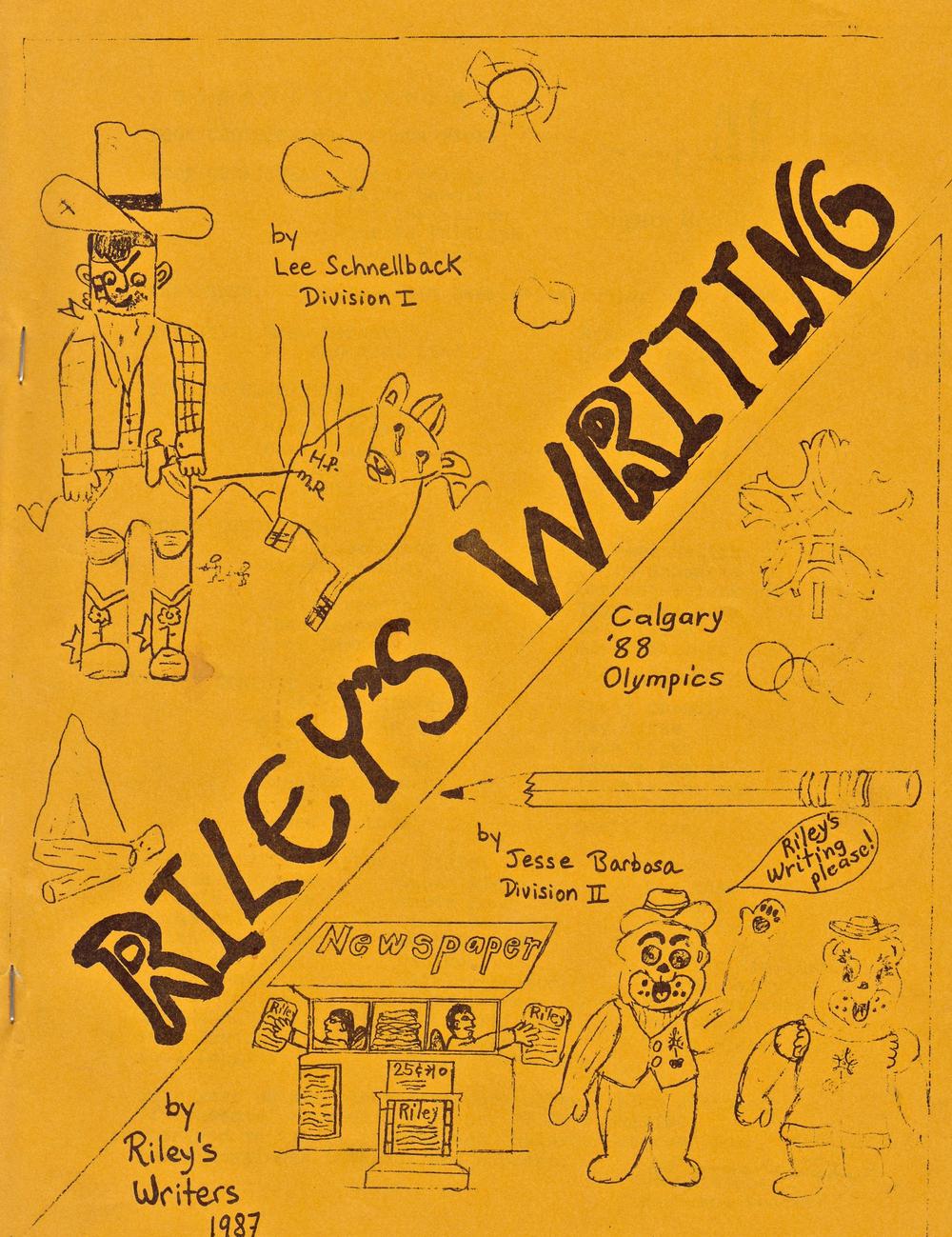 Riley's Writing 1987.