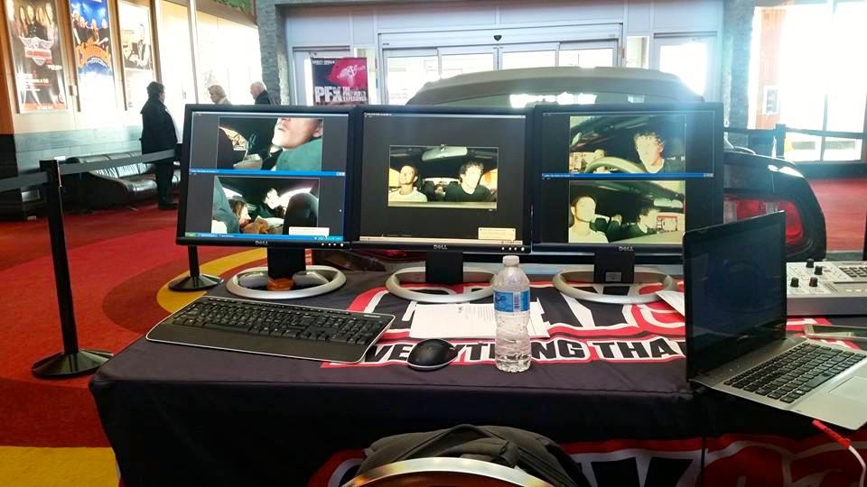 CJAY's streaming camera set-up.