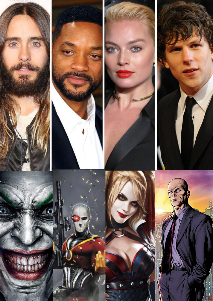 Suicide Squad line-up.