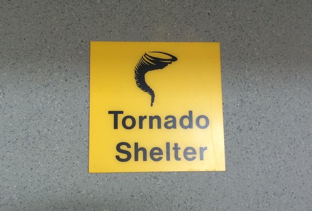 Tornado shelter?!