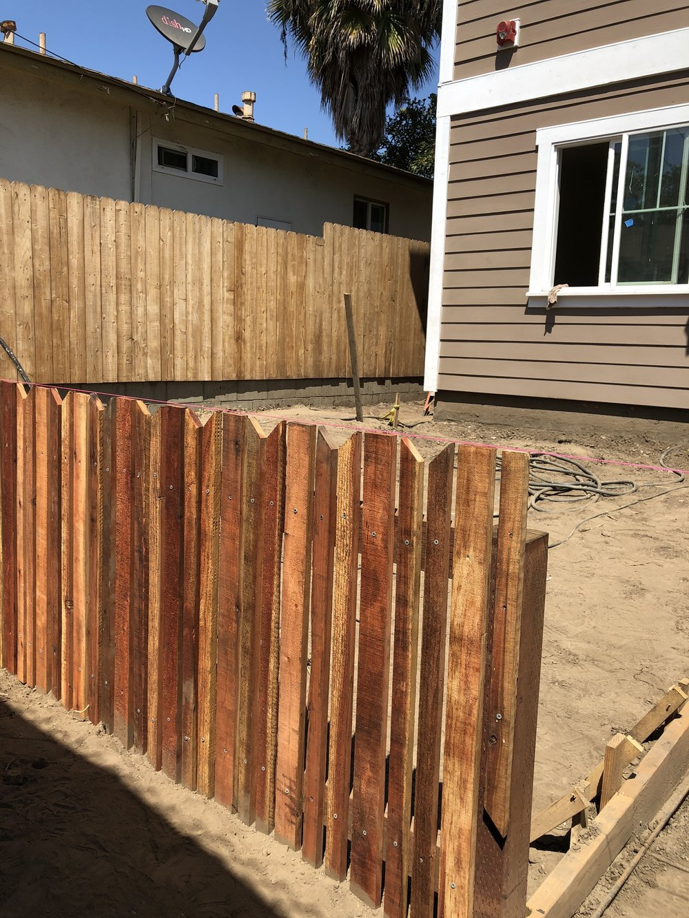 I learned how to build a fence! Who wants one? ;)