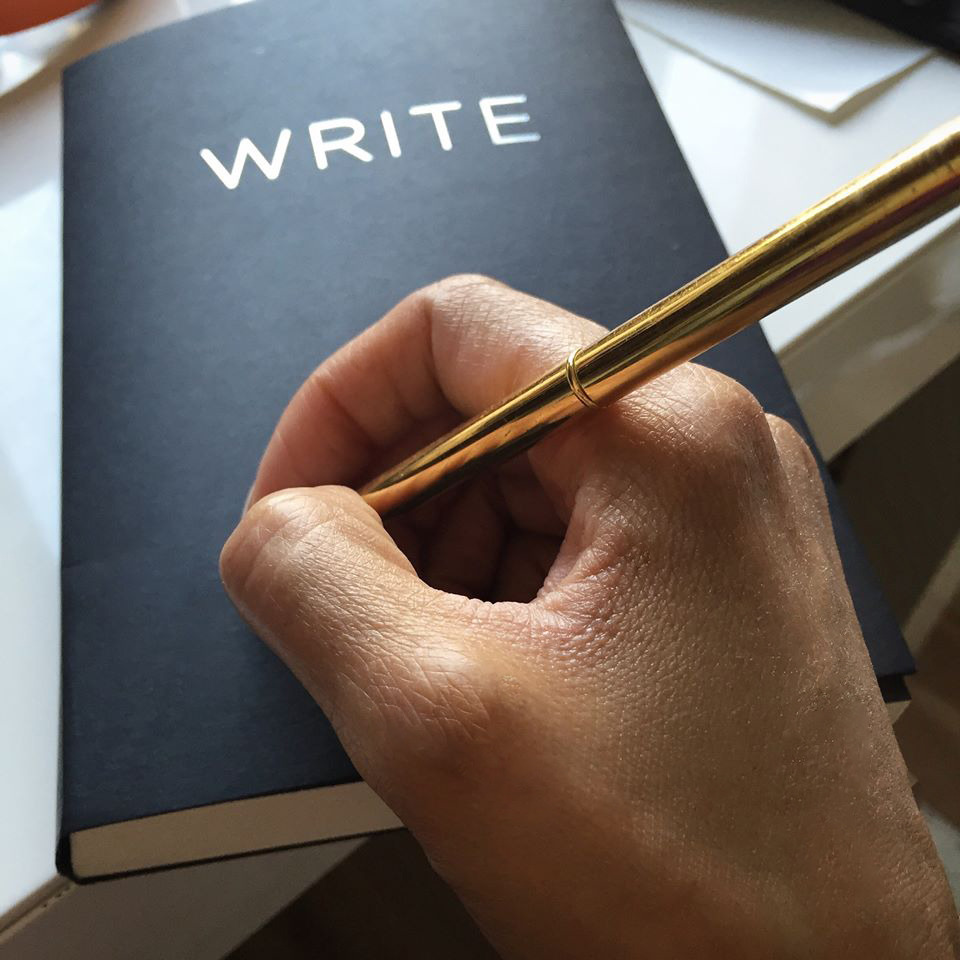 WRITING | Writing and creativity of every sort requires that you let go of control(as you know it) and get out of your own way; and instead become a vessel, a clear channel and a messenger.