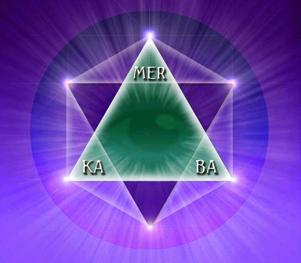 MerKaBa. Divine vehicle of light and ascension.