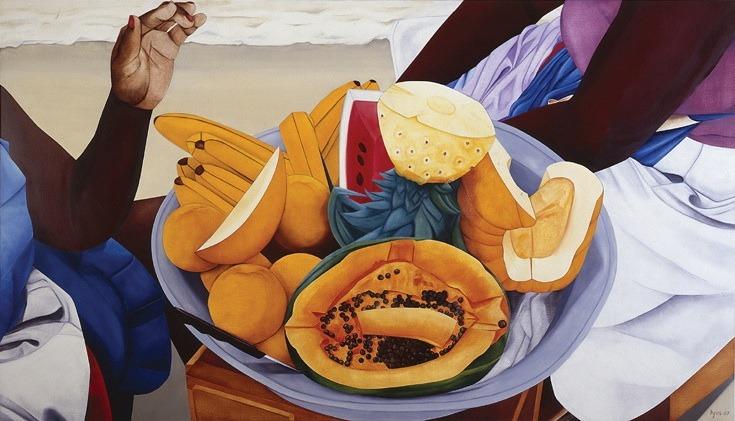 Ana Mercedes Hoyos,  Untitled , 1990s, oil on canvas