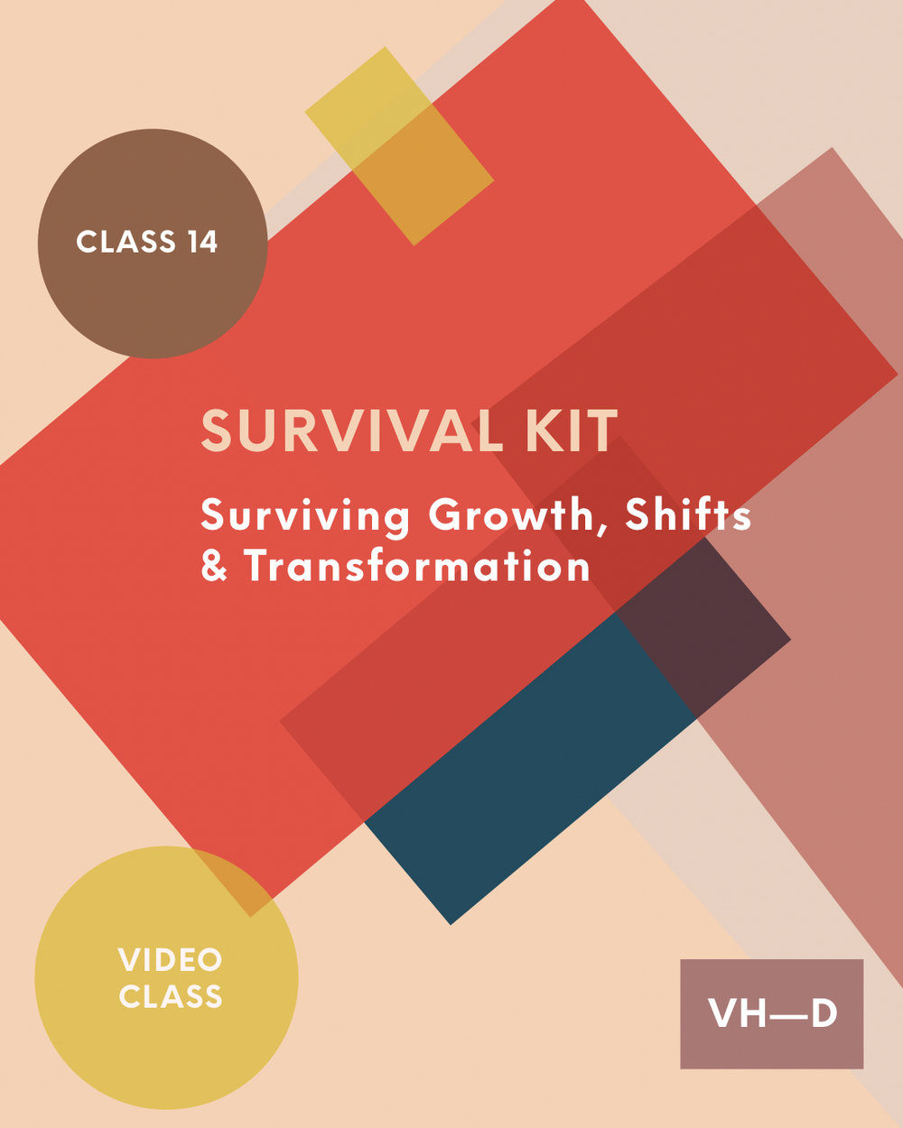 Subject 14: Survival Kit - Surviving Growth, Shifts & TransformationSurviving certain life experiences can be no joke! Until, that is you have in place a 'survival kit' to get you through, over, and beyond, to the other side. Growth, shifts, and transformation, are all essential to life (and progressing in it). Sometimes, this is accompanied by growing pains, challenges, and uncertain times.I've learned to turn survival into an art. For one because I had to, and secondly, because I believe in the force of vibrating higher daily and journeying in power. Spiritually speaking, all things end up working for our good. But it's a whole other thing to feel like you're thriving through periods of growth, shifts, and transformation – with purpose.More in class!