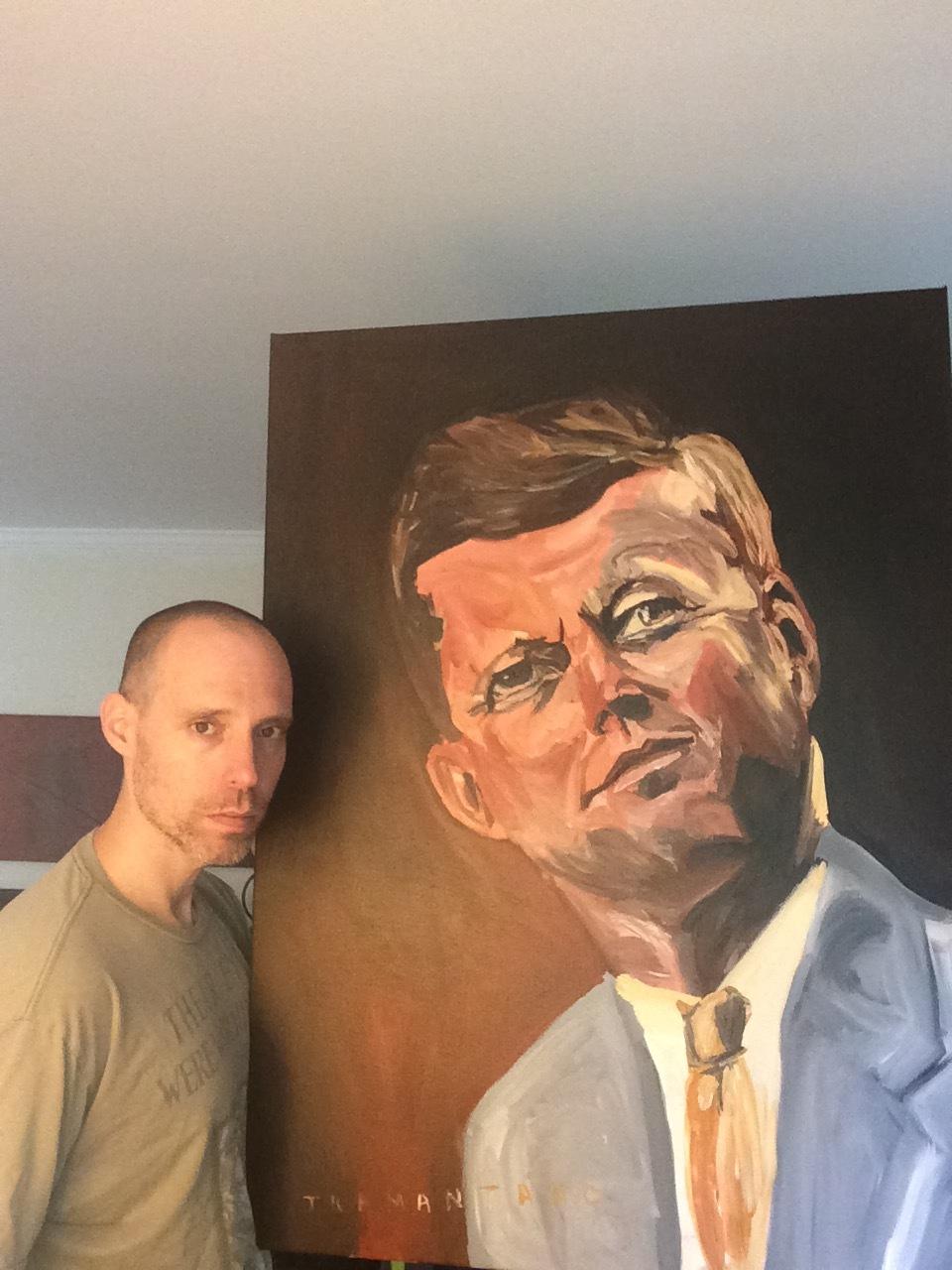 PaintingofJFK