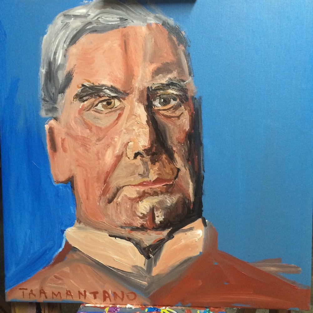 "McKinley was painted on September 2, 2017 on 20""x20"" canvas."