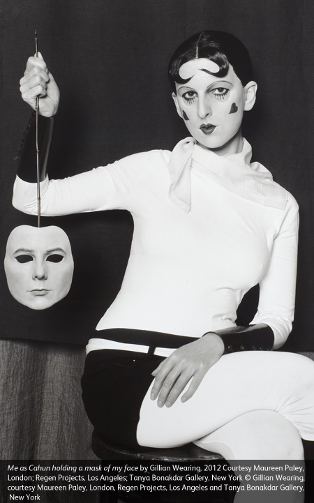 Gillean Wearing and Claude Cahun: Behind the mask, another mask